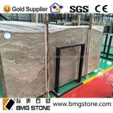 Pochette d'allumettes de marbre en bois de bois de construction