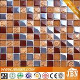 Mosaico di vetro di arte dorata lucida della Rosa (G823015)