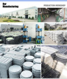 El compuesto conductor de la industria refuerza las cubiertas de las aguas residuales de la fibra