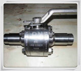 "Steel di acciaio inossidabile F316 Forged Flange Ball Valve (1-1/2 "" - 600lb)"