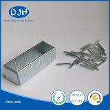 Ímã material magnético permanente do boro do ferro do Neodymium para a indústria