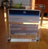 Acrylic LCD 3mm с 8 винтами рамок фотоего