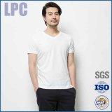 2016 de Hete In het groot Witte Lege Katoen Aangepaste T-shirts van de Verkoop voor Mensen