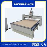 Grabador de madera del CNC del molde de la tarjeta de taza de las pistas Ck1325 2