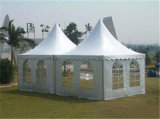 Curtains及びLiningsの白いOutdoor Wedding Party Tent Big Pagoda Tent