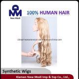 Cheveu synthétique humain de mode pour Madame