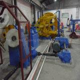 機械を形作る銅線ケーブル
