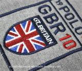 Stickerei-Zeichen-Großverkauf-spätestes Auslegung-Polo-T-Shirt