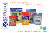 Flexibler Plastikdestillierbarer Nahrungsmittelhochtemperaturbeutel