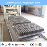In pieno blocchetto automatico del cemento idraulico Qt6-15 che fa macchina