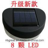 Lampada solare esterna della rete fissa LED