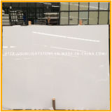Calacatta White Artificial Quartz Stone Kitchen Flooring
