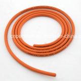 Tuyau flexible jaune en caoutchouc à haute pression de gaz