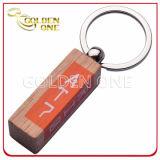Dare via a disegno a buon mercato Assorted Engravable la catena chiave di legno