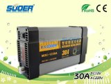 2015 Suoer Caricabatteria 12V 30A Smart Charger batteria con ricarica PWM Modalità display digitale Batteria con CE & RoHS (MDC-1230A)
