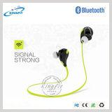 Fone de ouvido sem fio de Bluetooth do esporte com voz estereofónica Mic