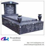 Pietra tombale europea del granito di stile