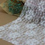 Cordón de nylon de la cuerda del algodón del bordado del estiramiento para los accesorios de la ropa
