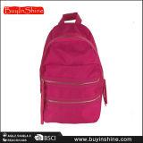 Nuova signora d'avanguardia Backpack Bag delle nappe di colore solido del progettista