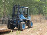 ISOの5トンのLift Capacity Roughの地勢Forklift (Yc50)