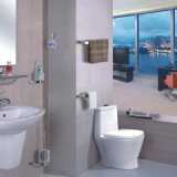 Edelstahl-Badezimmer-Toilettenpapier-Halter (K08)