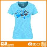 T-shirt de mode du mélange des femmes