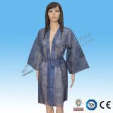Vendita calda non tessuta del kimono di bellezza Salon/SPA/Barbershop