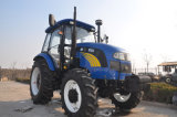 tracteur de ferme de 100HP 120HP avec la carlingue de climatisation
