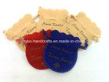 Malotes por atacado feitos sob encomenda da jóia do Drawstring de veludo