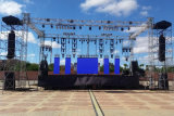 P6.25 Outdoor Full Color LED Display per Stage/Event Background