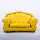 Conjunto de cuero coloreado brillante del sofá de la PU del sofá de clase superior de 2 asientos