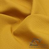 agua de 75D 210t y de la ropa de deportes tela tejida chaqueta al aire libre Viento-Resistente 100% de la pongis del poliester del telar jacquar abajo (E012)