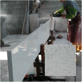 Pedra Artificial Pedra Quartz Artificial White Sparkle Quartz Stone Countertop