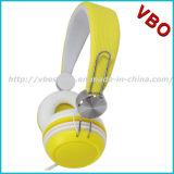Auscultadores descartável, auriculares estereofónicos para a promoção