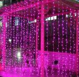 축제 LED 훈장 커튼 빛