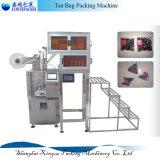 Maquinaria del embalaje del té de la máquina/del triángulo del conjunto de la bolsita de té de la pirámide