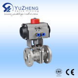 2PC Flanged Ball Valve con l'ANSI Standard