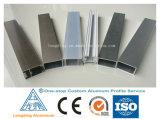 6061 6063 صناعيّ ألومنيوم بثق قطاع جانبيّ