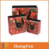 manera y nueva bolsa de papel diseñada del regalo con la cinta modificada para requisitos particulares