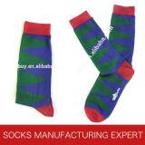 Gemerzerisierte Socke mit Gleitschutz behandelt (UBUY-103)
