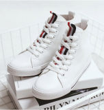 New Arrival Girls Student Shoes com Lace up (NF-7)