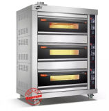 Steel inoxidável Gas Bread Bakery Oven (306Q)