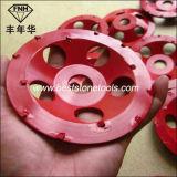 Колесо чашки инструмента PCD PCD-15 PCD для меля эпоксидной смолы