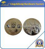 Coutume bon marché en métal nous pièces de monnaie d'enjeu