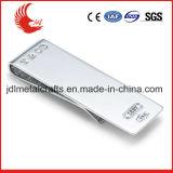 Clip d'argent de blanc en métal de promotion de la qualité 2016