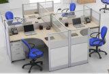 Stazione di lavoro rotonda del blocco per grafici modulare del metallo dei cubicoli dell'ufficio di Hotselling Nepal (SZ-WS318)