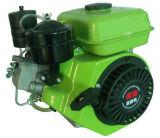 Motore diesel raffreddato aria del singolo cilindro con il colpo 4