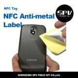 Nfcの反金属の札Hf 13.56MHzのペーパーUltralight