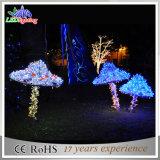 휴일 옥외 조경 정원 LED 크리스마스 꽃 훈장 빛