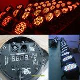China Günstige DMX RGB 3in1 54X3w PAR 64 LED-Beleuchtung Bühnen